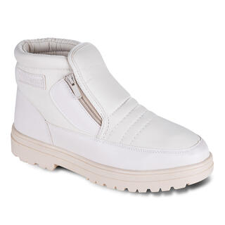 Grzejące buty zimowe beżowe