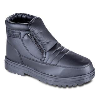 Grzejące buty zimowe czarne