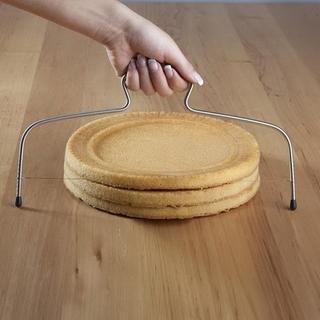 Nóż strunowy do krojenia ciasta