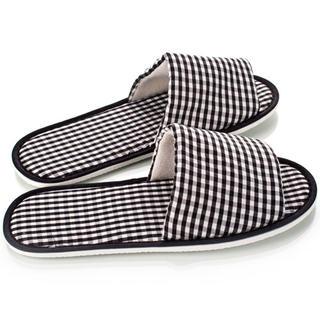 Pantofle dla gości - karo