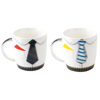 Kubek ceramiczny 390 ml krawat, BANQUET