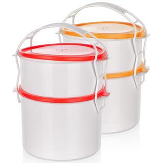 Plastikowy pojemnik do przenoszenia potraw Apetit 2 piętra, BANQUET