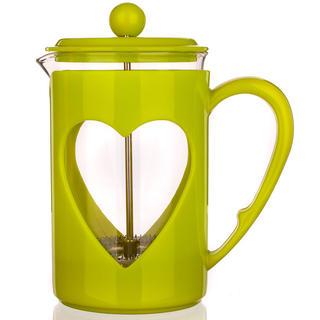 Szklany dzbanek do kawy 800 ml Darby, BANQUET zielony