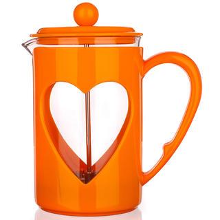 Szklany dzbanek do kawy 800 ml Darby, BANQUET pomarańczowy