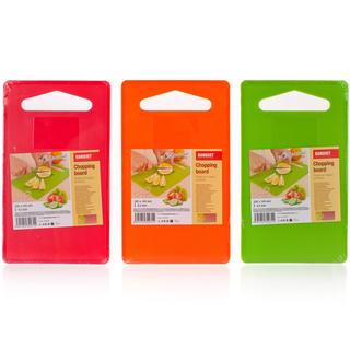 Plastikowa deska do krojenia Culinaria Plastia Colore, BANQUET