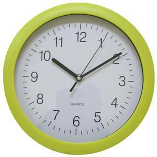Zegar ścienny okrągły żółty