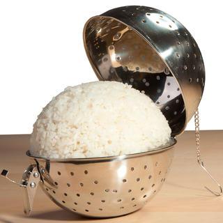 Kule ze stali nierdzewnej do gotowania ryżu