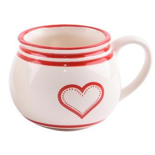 Kubek ceramiczny KRAJACZ Serce