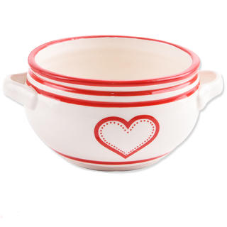 Miska ceramiczna KRAJACZ 700 ml Serce