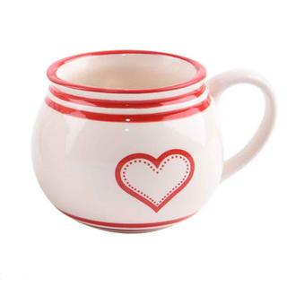 Kubek ceramiczny KRAJACZ 450 ml Serce