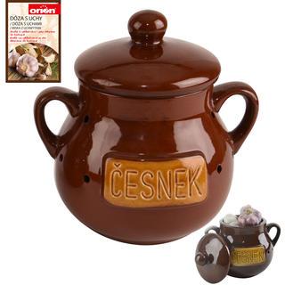 Pojemnik ceramiczny CZOSNEK