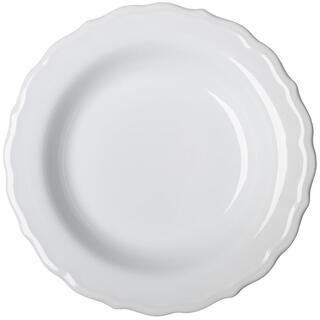Ceramiczny talerz głęboki z plastycznym dekorem