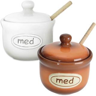 Ceramiczny słoik na miód