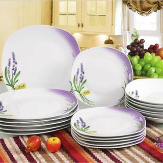 Zestaw kuchenny porcelanowy Lawenda, BANQUET