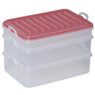 Pojemniki do przechowywania żywności Easy Click 3 szt., BANQUET