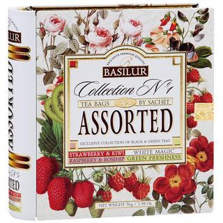 Basilur tea – Książka 16x1,5g 16x2 Variace kombi