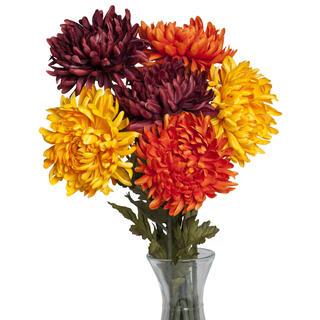 Sztuczne kwiaty - Chryzantemy 3 szt