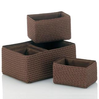 Koszyki dekoracyjne RIMOSSA brązowe