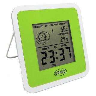 Termometr cyfrowy bezprzewodowy B-5105 zielony