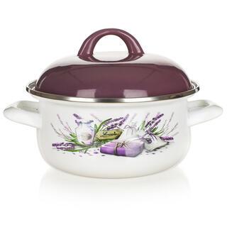 Garnek emaliowany Lavender, BANQUET