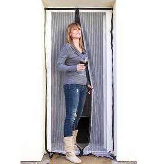 Moskitiera do drzwi przeciw owadom 100 x 120 cm, BRILANZ