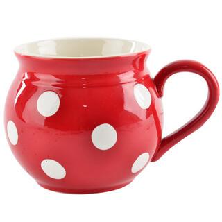 Kubek ceramiczny KRAJACZ czerwony