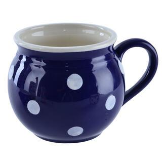 Kubek ceramiczny KRAJACZ niebieski