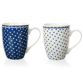 Kubek ceramiczny DOTS 340 ml, BANQUET