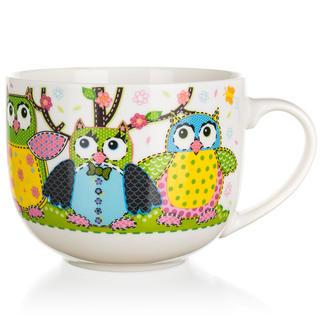 Ceramiczny jumbo kubek OWLS 500 ml