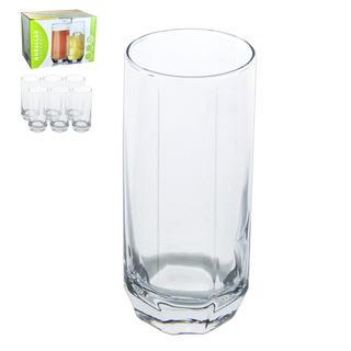 Szklanka wysoka 390 ml DIAMOND 6 sztuk