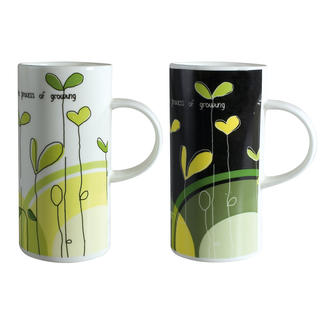Kubek ceramiczny Modern Plants 420 ml, BANQUET