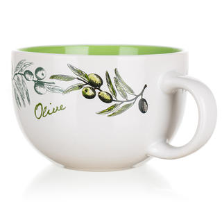 Kubek ceramiczny jumbo 660 ml Olives, BANQUET