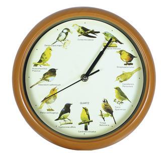 Zegar z głosami ptaków