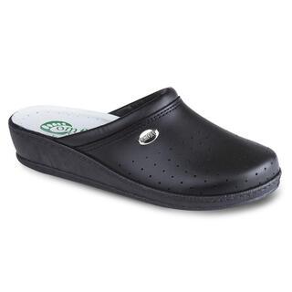 Pantofle damskie z zakrytymi palcami Comfort Step szare