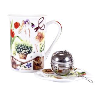 Ceramiczny zestaw do herbaty Garden