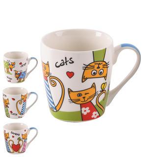Kubek ceramiczny Psy i koty