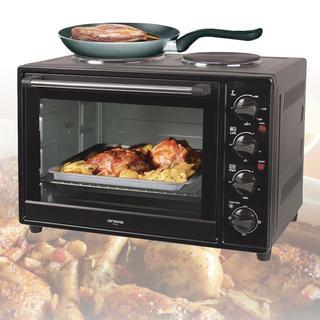 Kuchenka elektryczna z dwoma grzejnikami, Orava