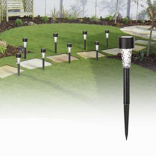 Lampy solarne do ogrodu 8 sztuk