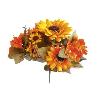 Sztuczny kwiat - Słonecznikí i Hortensje