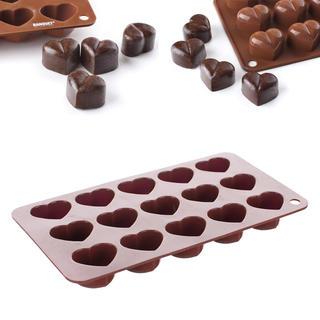 Forma silikonowa do przygotowania czekolady Serce, BANQUET