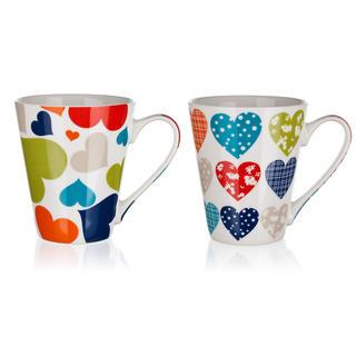 Kubek ceramiczny HEARTS