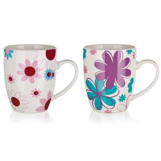 Kubek ceramiczny Flowers 320 ml, BANQUET
