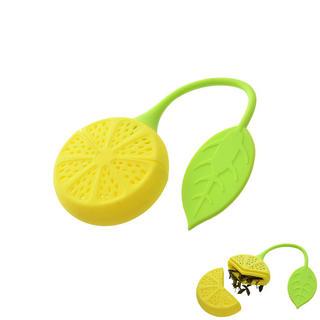 Silikonowe sitko do herbaty Cytryna