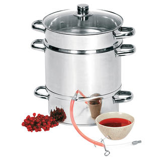 Sokownik - Garnek do gotowania soku 8 l
