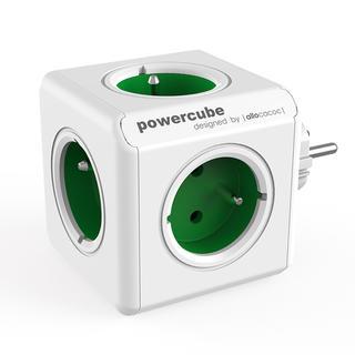 Rozgałęźnik PowerCube Original zielony