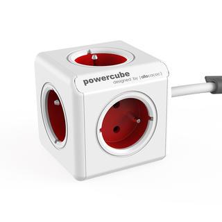 Rozgałęźnik PowerCube Extended czerwony