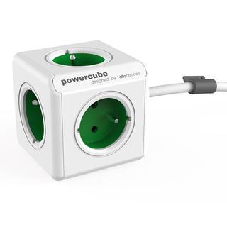 Rozgałęźnik PowerCube Extended zielony