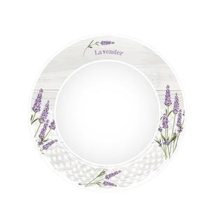 Ceramiczny talerz deserowy Lawenda