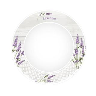Ceramiczny talerz głęboki Lawenda
