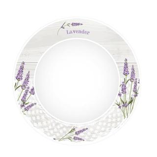 Ceramiczny talerz obiadowy Lawenda